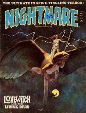 jeff jones - nightmare cover