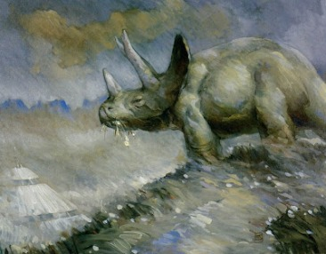 Jeffrey Jones - Triceratops