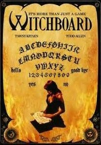 witchboard movie - poster