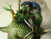 mike k - styracosaurus with forest expansion - pic 3