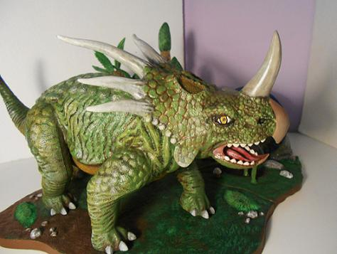 mike k - styracosaurus with forest expansion - pic 7