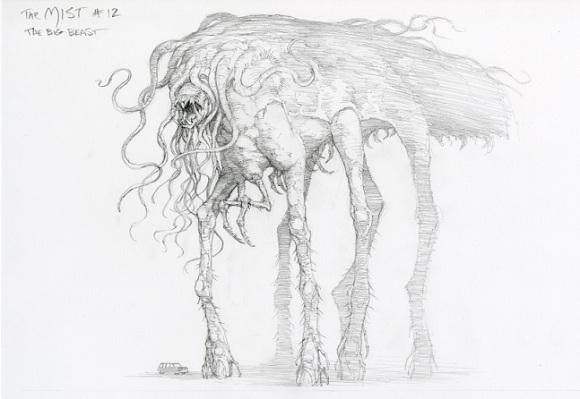 Bernie Wrightson - mist behemoth concept