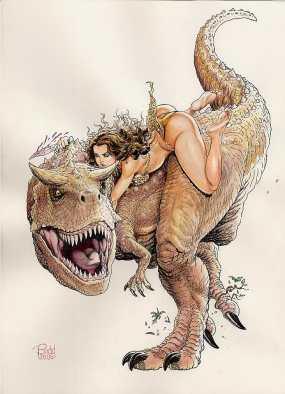 budd root - cavewoman - pic 2