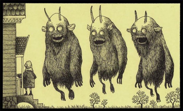 don kenn - post it monsters - pic 5