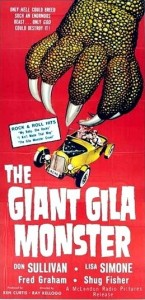giant gila monster poster 1