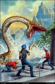 Joe Jusko - Plesiosaur - the land that time forgot