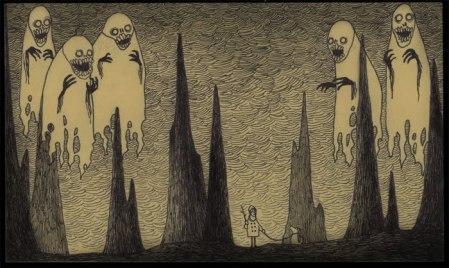 John Kenn mortensen - post it monsters 22