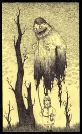 John Kenn mortensen - post it monsters 23