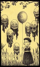 John Kenn mortensen - post it monsters 24