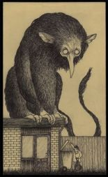 john Kenn mortensen post it monsters