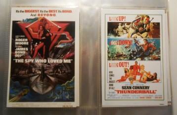 movie poster art - collection - james bond 1