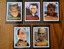 US Postal - Monster Post cards 1