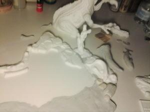 modifications sculpts - in progress