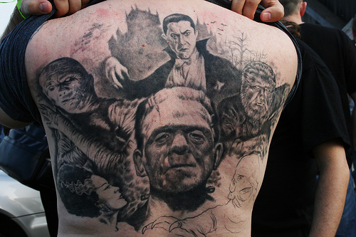 horror themed tattoos - pic 2