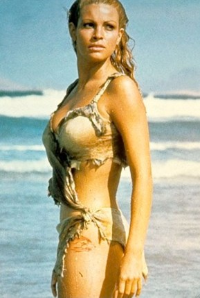 Raquel Welch wet