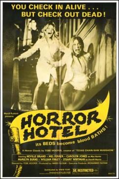 DeathTrap - horror hotel 1977