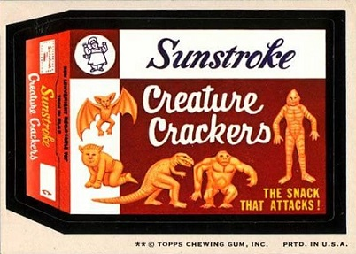 wacky packages creature crackers