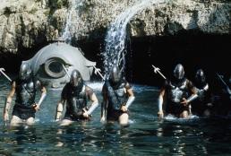 metal heads invade Atlantis