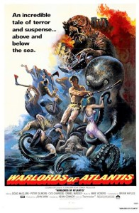 warlords of atlantis - poster