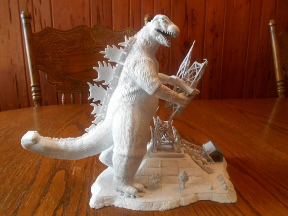 Godzilla MotM Prototype Rendition by Mike K - pic 1