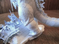 Godzilla MotM Prototype Rendition by Mike K - pic 7
