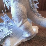 Godzilla MotM Prototype Rendition by Mike K - pic 7