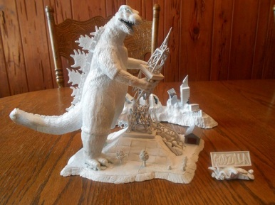 Godzilla MotM Prototype Rendition by Mike K - pic 9