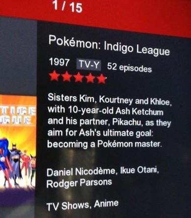 movie summary - pokemon