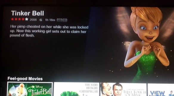 movie summary - tinkerbell