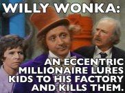 movie summary - Willy Wonka