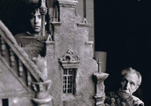 tim burton and V Price