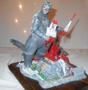 Godzilla custom kit