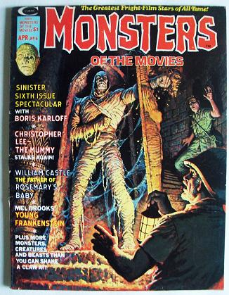 Monsters of the Movies Magazine -1975